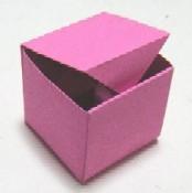 箱の折り方・作り方 《折り紙》 : 【折り紙】箱の作り方・折り ...